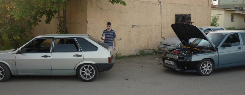 Три ВАЗ 2110 / Архив