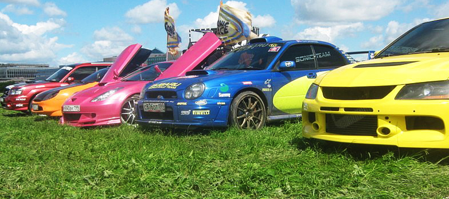Две Subaru Impreza WRX STI / Архив