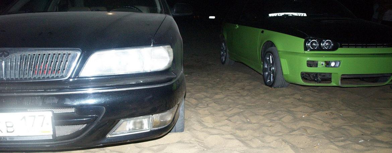 18.07.2009 — Пляжная вечеринка и Drag Racing