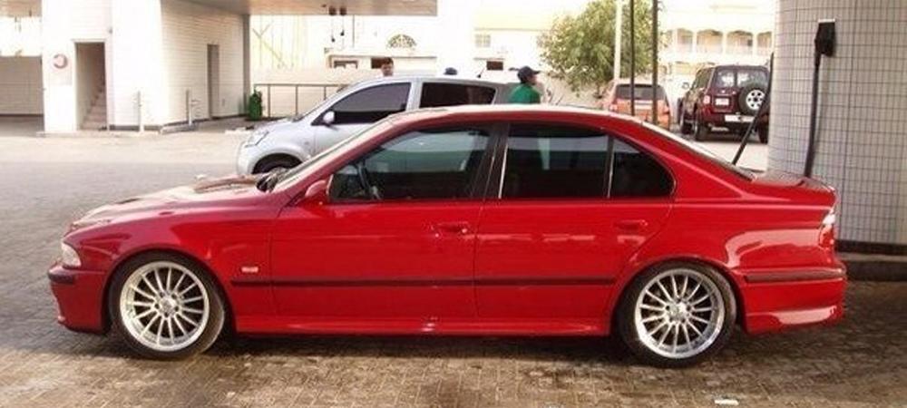 BMW 560i V12 Sedan (E39) MVR