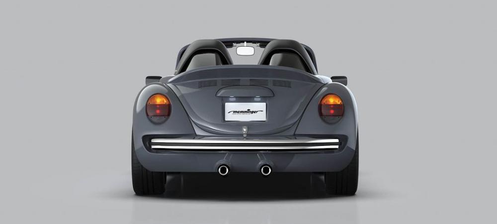 Как классический Volkswagen Beetle превратили в спорткар
