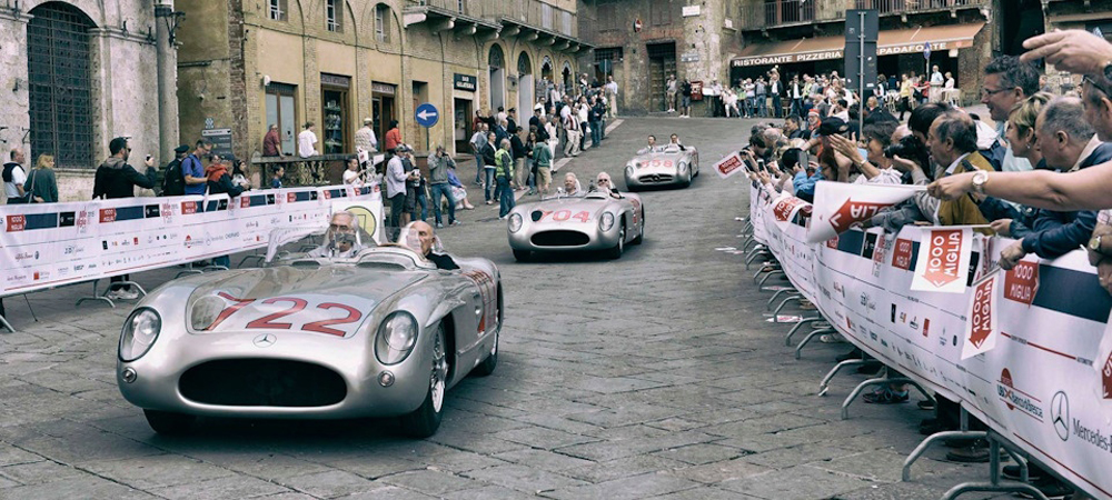 Mille Miglia гонка сквозь время и пространство.