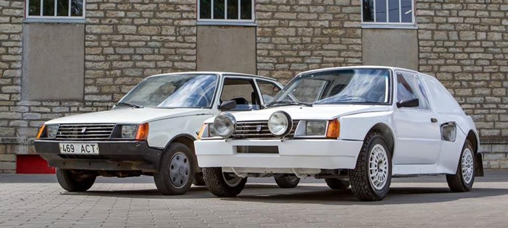 Раллийная «Таврия» ЗАЗ-1102 ERF-Mobile легендарной Group B.