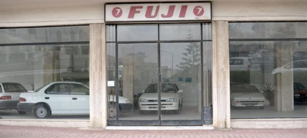 Заброшенный автосалон Subaru