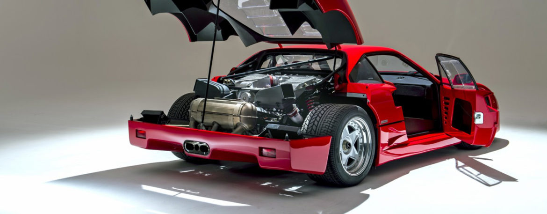 Двигатель Ferrari Tipo F120 / F120A