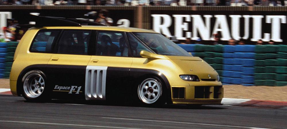 Как Renault, Matra и Williams построили минивэн с сердцем Формулы-1