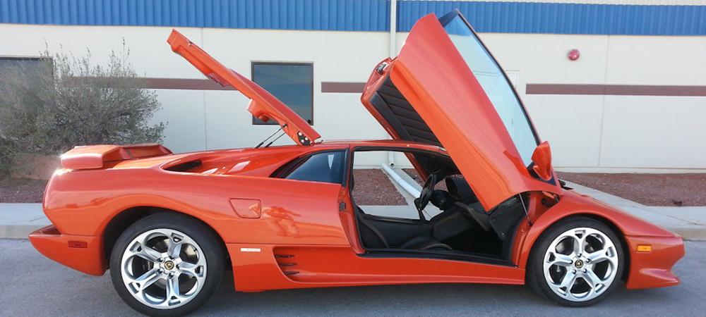 Lamborghini Diablo с двигателем V8 от Корветта.