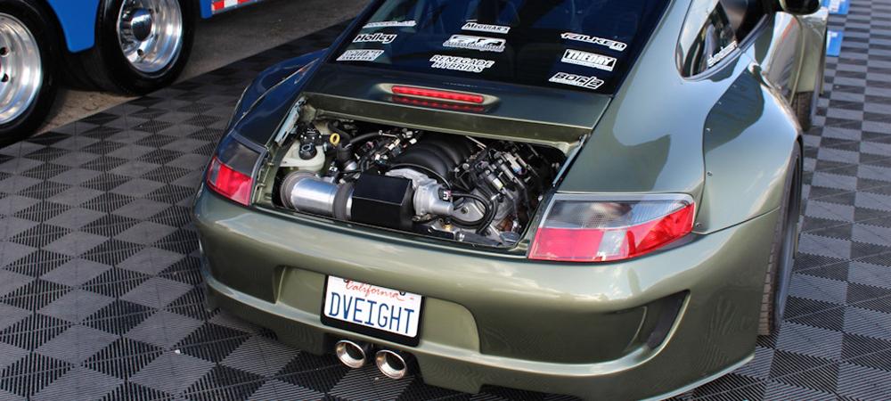 Porsche 911DV8 с 7.0-литровым V8 от Corvette