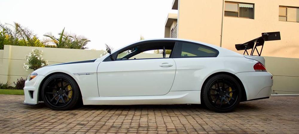 BMW M6 c 6-роторным двигателем.