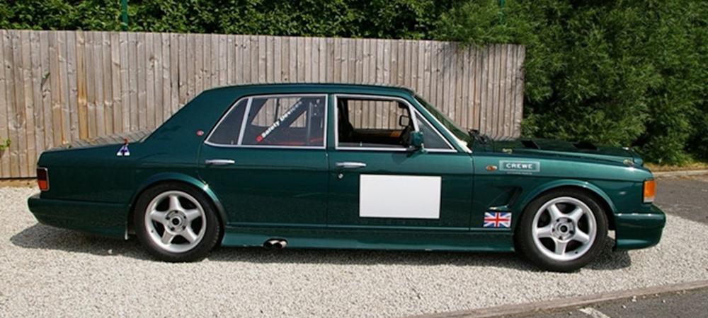 Старый чемодан Bentley Turbo R переделали для гонок.