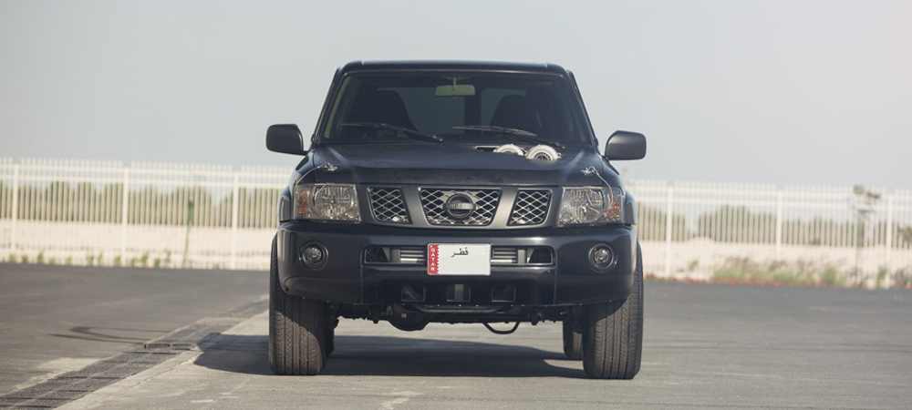1400 сил на колесах: не совсем обычный Nissan Patrol.