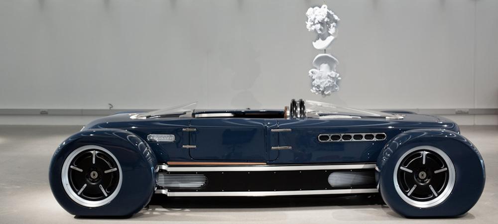 Сила вдохновения: пример бельгийской мастерской, постройка автомобиля на заказ.