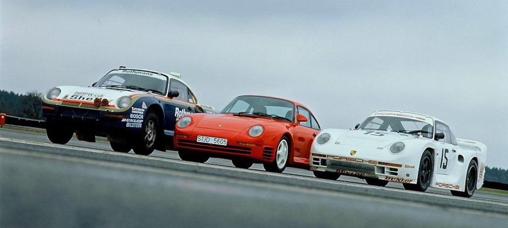 Универсальный боец Porsche 959