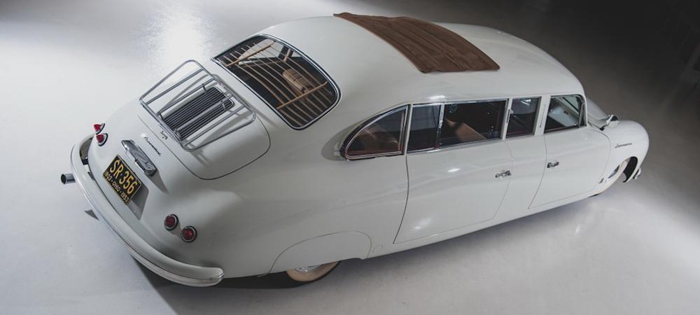 Самый странный лимузин Porsche